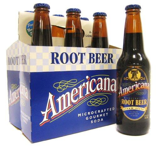 (Vintage) Americana Root Beer 12 Pack