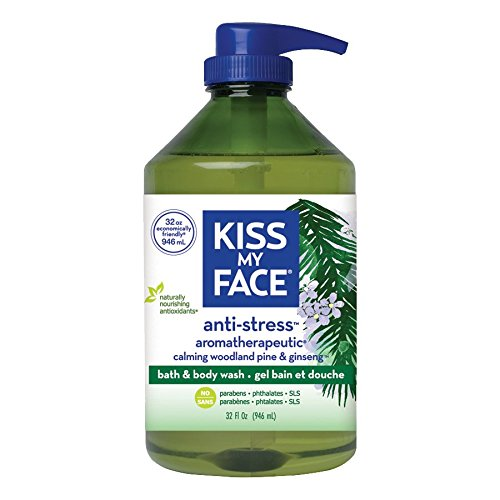 Price comparison product image Kiss My Face Anti-stress Shower Gel, Bath and Body Wash, Value Size 32 oz
