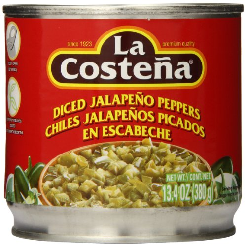 La Costena Diced Jalapeno, 13.4 Ounce (Pack of 12) ()