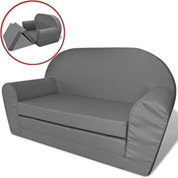 Amazon.de: vidaXL Kindersofa mit Bettfunktion Sessel Schlafsofa ...