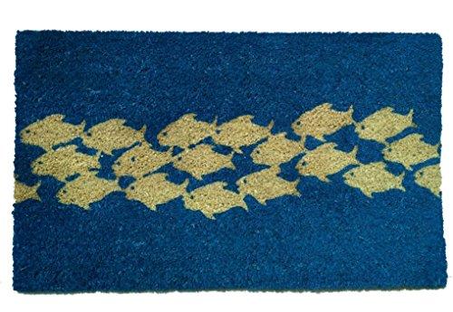Fish Door - Geo Crafts G396 PVC Pool of Fish Entry Way Doormat
