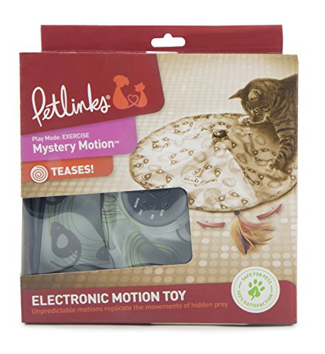 Petlinks Mystery Motion Cat Toy Concealed Motion Toy, Colors may vary