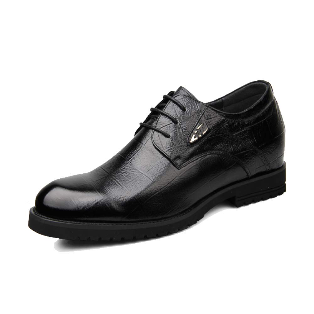 ZQZQ Business Increase Men Internal Increase Business ZQZQ Formal Wear Lederschuhe Embossing schwarz eab7bf