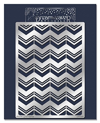 Stampendous Chevron Background Dreamweaver Stencil]()