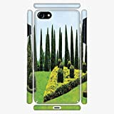 great boxwood garden design Phone Case Compatible with 3D Printed iPhone 7/iPhone 8 DIY Fashion Picture,Designed Garden with Evergreen Shrubs Boxwood,Personalized Designed Hard Plastic Cell Phone Back Cover Shell Protective