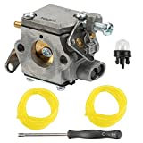 Butom Carburetor with Primer Bulb Adjustment Tool for Homelite 33cc UT-10532 UT-10926 Ryobi RY74003D ChainSaw Replace # 300981002 000998271 A09159