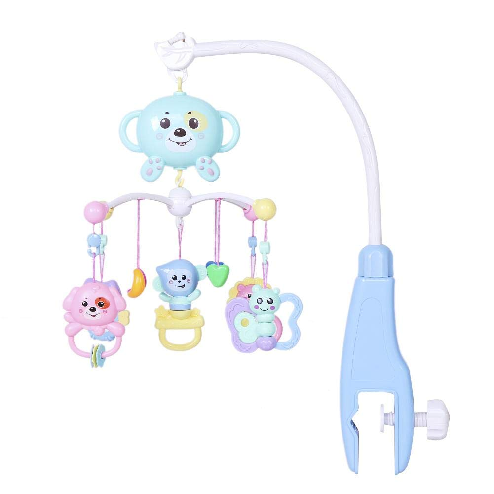 Baby Crib Mobile Infant Appease Toy Kids Electric Music Rotating Bed Bell Newborn Rattle Early Education Toys