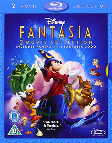 Fantasia / Fantasia 2000 (Two movie Collection) by Walt Disney Studios Home Entertainment