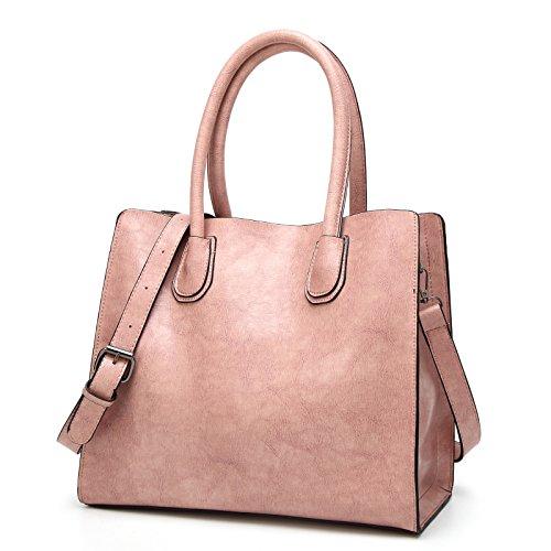 cuero bolsa de bandolera simple metal calidad alta bolso moda de La de Sra D de pu cremallera hombro E wafZxgnOq