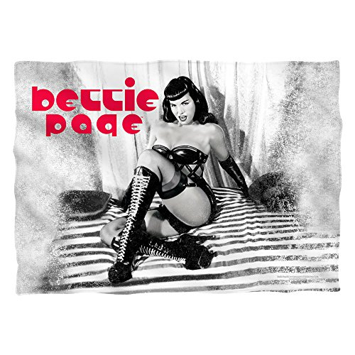 Bettie Page Boots Sublimation Pillow Case