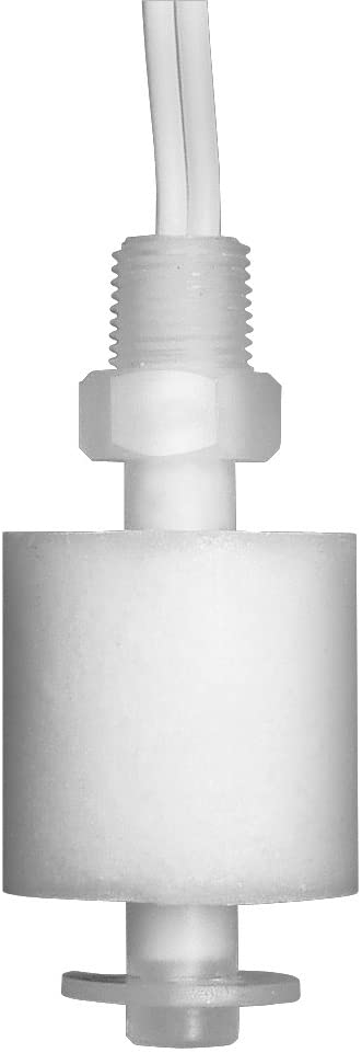 "Madison M8000 Liquid Level Sensor, Miniature Vertical Float Switch, Polypropylene, 1/8"" NPT"