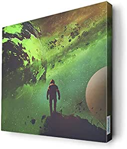 trip to space Wall Canvas by Decalac,30x 30cm - 19096