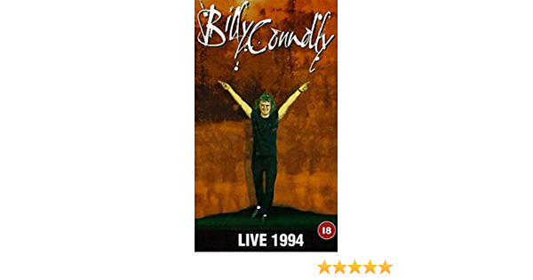 Billy Connolly Live 1994 Vhs Billy Connolly Nobby Clark Steve Brown Billy Connolly Movies Tv