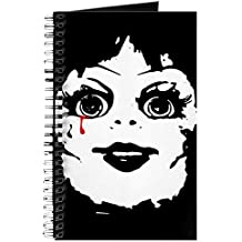 CafePress - Annabelle Face - Spiral Bound Journal Notebook, Personal Diary, Dot Grid
