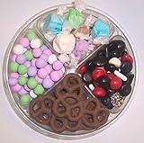 Scott's Cakes 4-Pack Chocolate Dutch Mints, Nougat Taffy, Licorice Mix, & Chocolate Pretzels