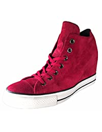 Converse Womens Chuck Taylor Lux Mid Textile Trainers