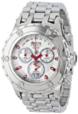 Invicta Men's 11869 Subaqua Chronograph Silver Dial Stainless Steel Watch, Watch Central