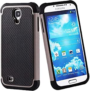 SHOCK PROOF DEFENDER ARMOUR CASE COVER FOR SAMSUNG GALAXY PHONES S4 Grey
