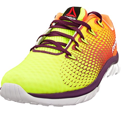 Reebok Women's Running Shoes yellow YELLOW PEACH ORANGE RED ORCHID Multi Color ZAYypckW