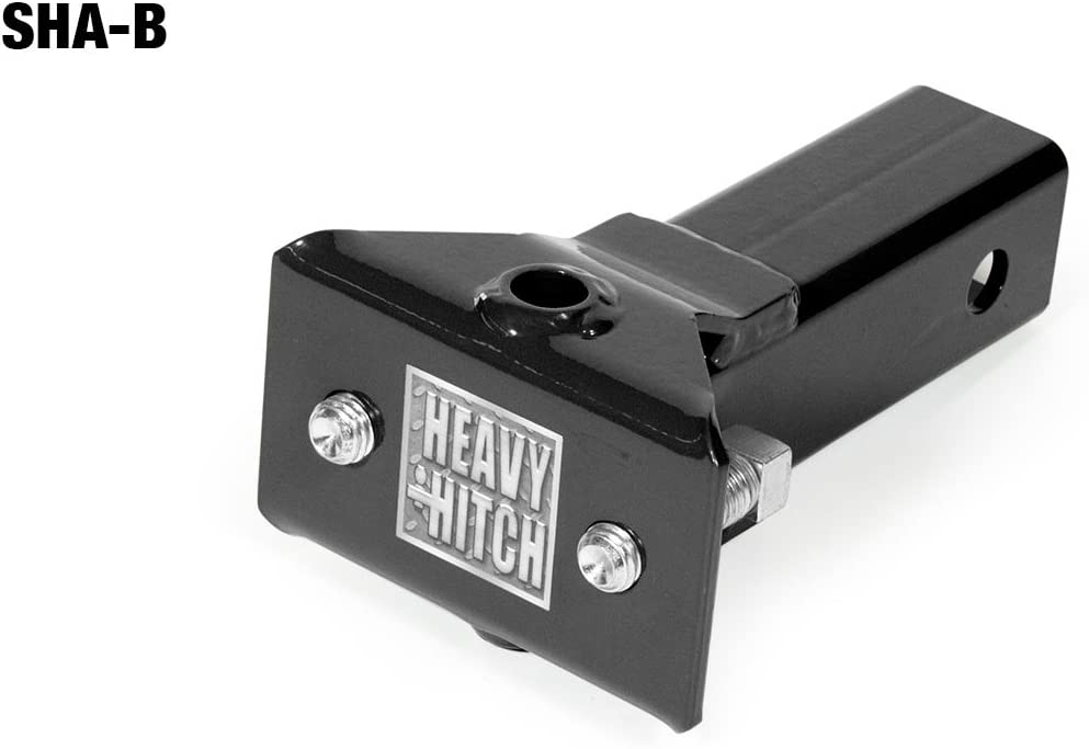 Sleeve Hitch Adapter for 2″ Receiver - Black