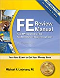 img - for FE Review Manual: Rapid Preparation for the Fundamentals of Engineering Exam, 3rd Ed book / textbook / text book