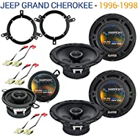 Jeep Grand Cherokee 1996-1998 OEM Speaker Replacement Harmony Upgrade Package