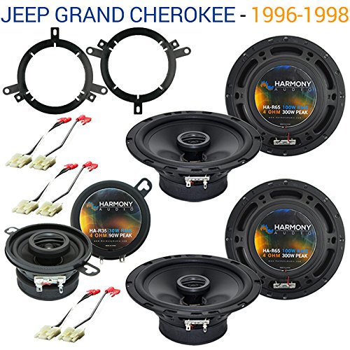 Fits Jeep Grand Cherokee 1996-1998 OEM Speaker Replacement Harmony Upgrade Package