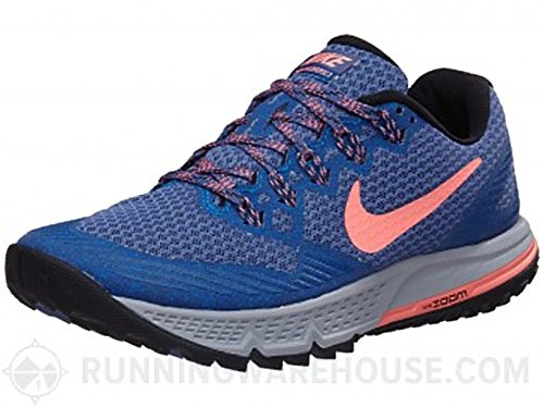 Nike Women's 749337-010 Trail Running Shoes, Multicoloured Blue Moon/Lava Glow-Soar-Team Royal