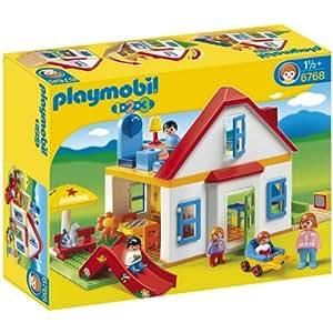 Playmobil 626084 - 1.2.3 Casa Familiar C/ Tobogán