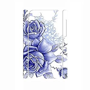 TYH - Beautiful Chinese Style White and Blue Porcelain Pattern Handmade Hard Plastic Phone Accessories Cover for Iphone 4/4s Case ending phone case