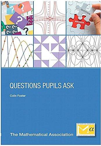 Read Online Questions Pupils Ask pdf