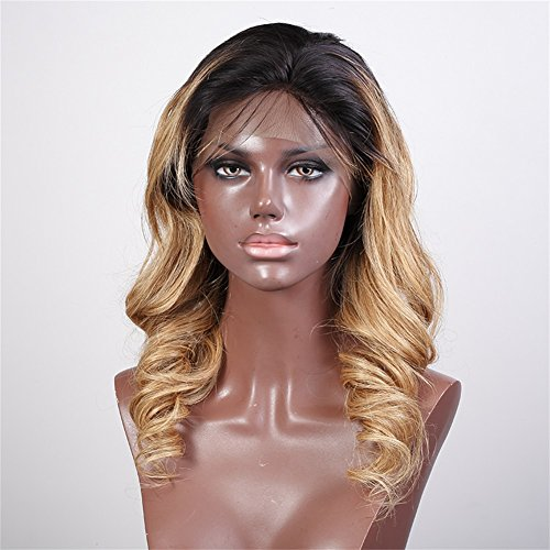 Glueless-Full-Lace-Wigs-Human-Hair-Ombre-Wig-Black-Roots-1B-27-Body-Wave-100-Real-Indian-Virgin-Hair-Lace-Front-Wig-With-Baby-Hair
