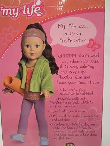 Madame Alexander My Life 18 Yoga Instructor Brunette by myLife Brand Products