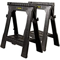 Deals on 2-Pack Stanley Folding Sawhorse 26-7/8-inch 060864R