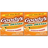 Goody's Extra Strength Fast Pain Relief Powder, Cool Orange Flavor, 2 Count