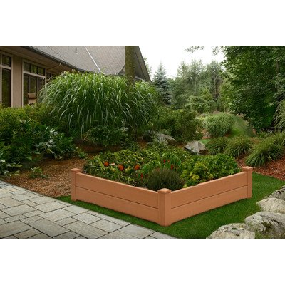 New England Arbors Chelsea Raised Garden Bed by New England Arbors