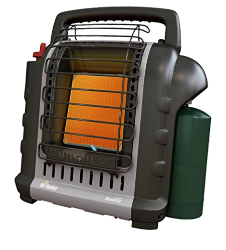Mr. Heater F232017 MH9BXRV Buddy Grey Indoor-Safe Portable RV Radiant Heater (4,000-9,000-BTU)