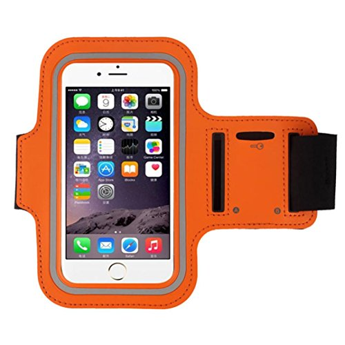 - GBSELL Armband Gym Running Sport Arm Band Cover Case For iphone 6s Plus 5.5Inch (Orange)