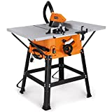 "VonHaus 1800W 10"" (250mm) Table Saw With 5500rpm Underframe -..."