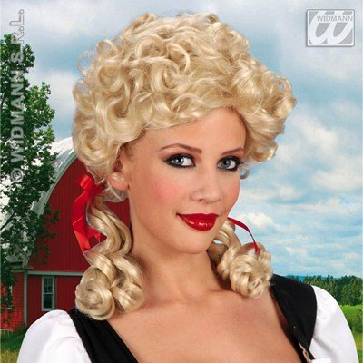 (Blonde Farmers Daughter Wig For Fancy Dress Costumes & Outfits)