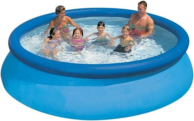 LYM & bañera Plegable Gran Piscina Inflable, Piscina para niños Adultos, baño portátil Plegable, Piscina Redonda para Toda la Familia Piscina Desmontable: Amazon.es: Hogar
