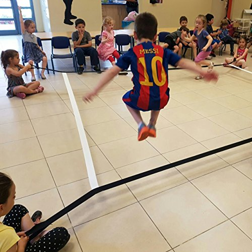 Merav Asher's Cooperative Square Band,Educational Tool,Children's Movement Game,Helps Gross Motor Skills,Cooperative Play,Physical Activity for Preschool / Schools, physical education equipment