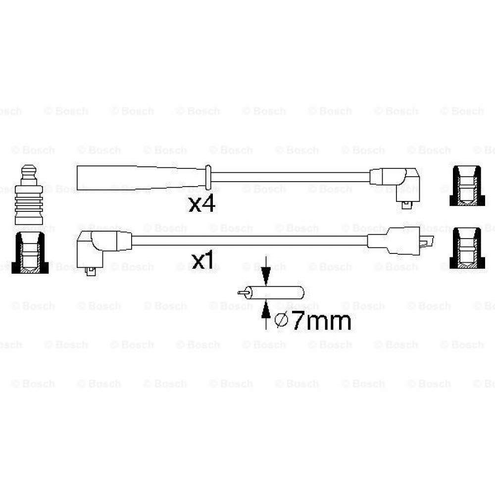Bosch 0986356807 Kit Cavi dAccensione