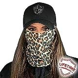 Face Shields for Women! SA CO Official Salt Armour Headbands (Cheetah)