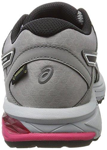 Gt Mid Black de Gris 9690 Running Chaussures 6 Grey Gris Asics TX 1000 Aluminum Femme G gOadydq