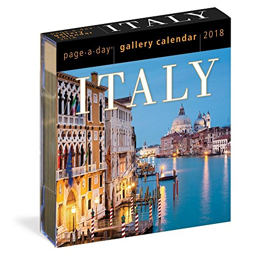 Italy Page-A-Day Gallery Calendar 2018 (Italy Easel)