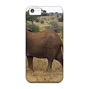 Premium Elephant With Baby Covers Skin For Iphone 5c