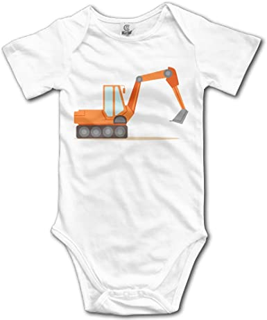 Construction Equipment Handmade Boys Romper Size 24 months