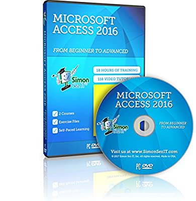 Master Microsoft Access 2016 Training Course - 18 Hours of Access 2016 Training for Beginner, Intermediate and Advanced Learners