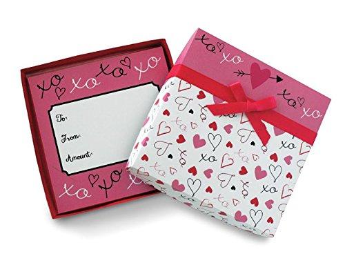 [해외]작은 선물이나 기프트 카드 장식 리본 발렌타인 데이 선물 카드 홀더 상자/Valentines Day Gift Card Holder Box with Decorative Ribbon for Small Gifts or Gift Cards